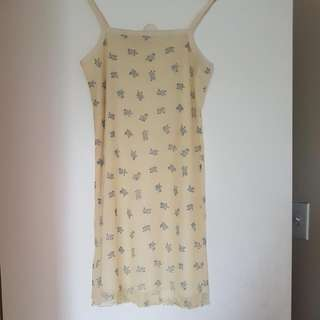 REDUCED: Yellow Summer Dress