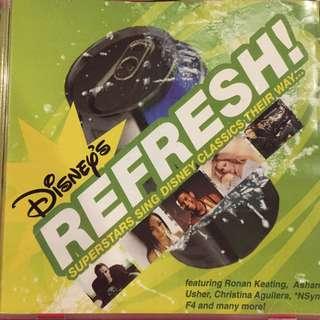 Disney Refresh - Superstars sing Disney Classics Their Way - Music CD Like new