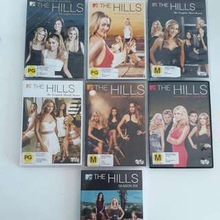 The Hills Seasons 1-6 Dvd