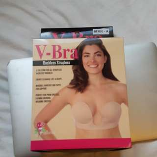 V-Bra Backless Strapless