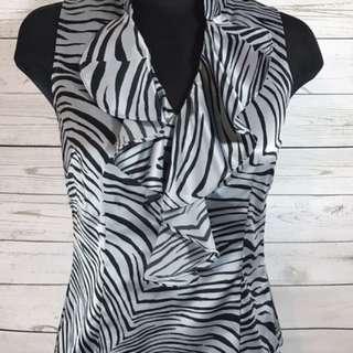 ANN TAYLOR zebra Size P6