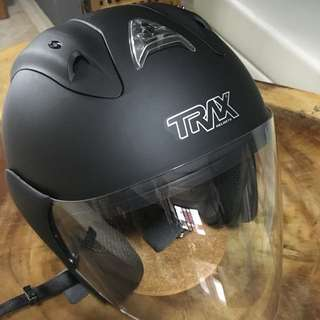 Trax Race ZR Helmet (Matte Black)