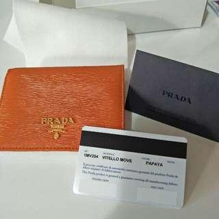 週末降價-全新正品Prada短夾