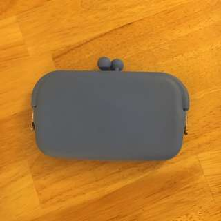 Blue Jelly Pouch