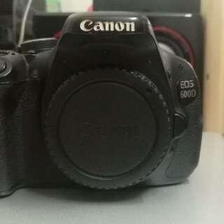 Canon 600D + 50mm lens