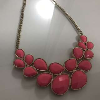 Exotic Pink Necklace