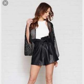 SALE Sheike Leather Short