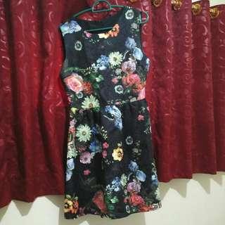 Mini flower Dress Size L Import