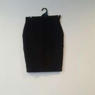 Cue Black Work Skirt REDUCED