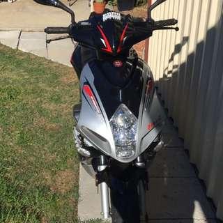 2012 MCI Firefox Moped