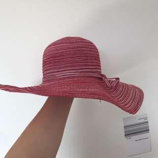 Red Floppy Hat