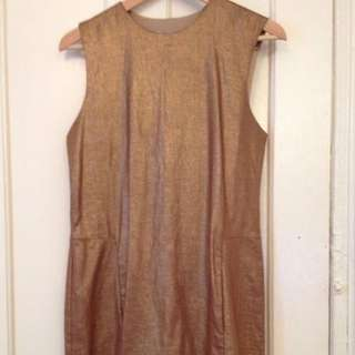 Gold Dress Size Medium