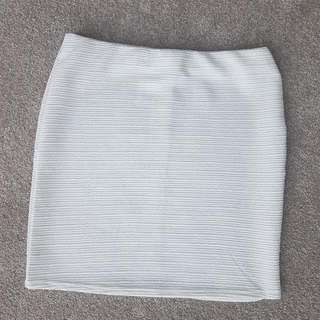 White Tube Skirt