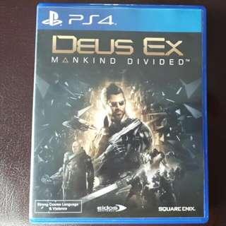 PS4 GAME SALE: Deus Ex Mankind Divided