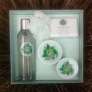 The Body Shop Fuji Green Tea Bliss Box Pack (5 Items)