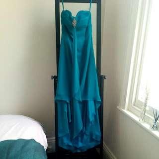 Formal Dress - Strapless Long Back Short Front