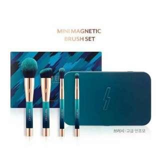 Pony Effect Mini Magnetic Brush Set