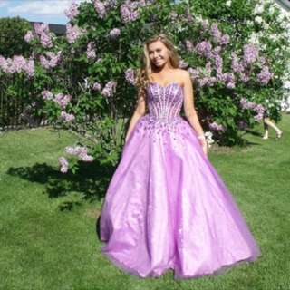 Lilac/Purple Prom Dress