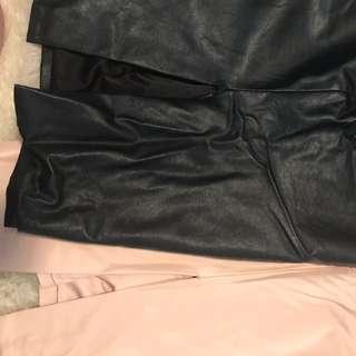 Bardot Leatherette skirts