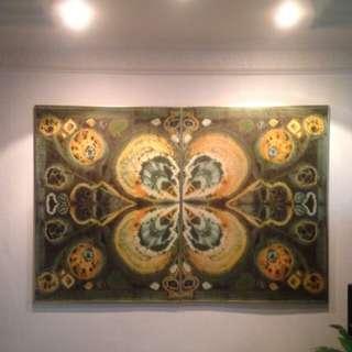 Diptych Batik Art