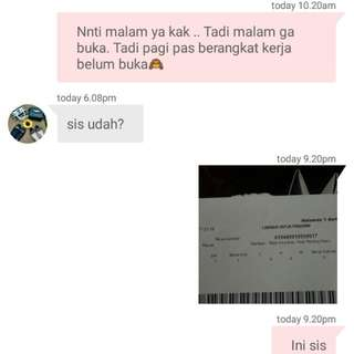 Bukti Resi [Trusted Seller Insha allah]