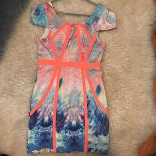 Fluro Dress