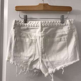 Abercrombie And Fitch High Waist Shorts