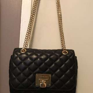 *PRICE DROP* Quilted Michael Kors Black Purse