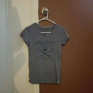 Factorie Unlock My Heart Tee