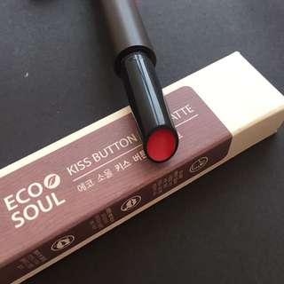 🈹The Saem Eco Soul Kiss Button Lips Matte