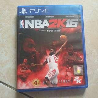CD BLU RAY NBA2K16 PS4