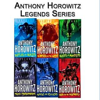 Anthony Horowitz Legend Series (6 Books)