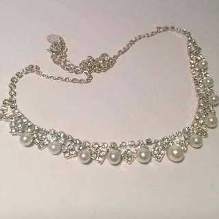 EQUIP White Pearl Necklace