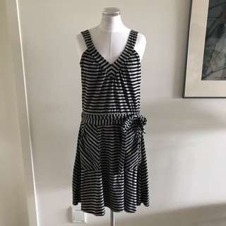 SIZE 10 Cotton Wrap Dress
