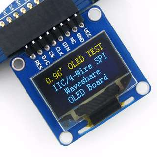 "0.96"" TFT Display (128 by 64)"