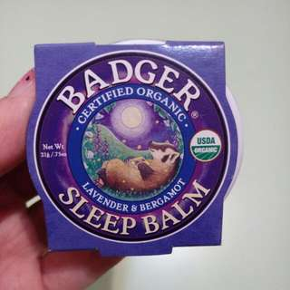 Badger Sleep Balm 睡眠膏