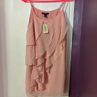 F21 Dusty Pink Dress