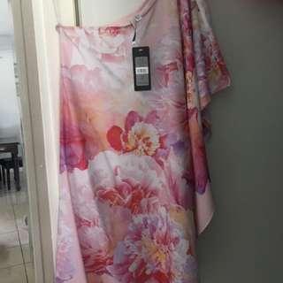 Forever New One Shoulder Dress Size 6