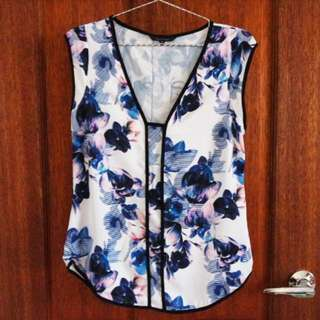 Portmans Floral Top