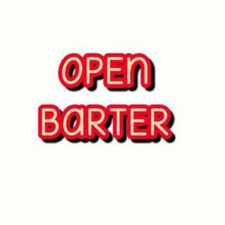 OPEN BARTER ya Girls