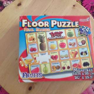 Floor Puzzle Fruits  24 Pieces