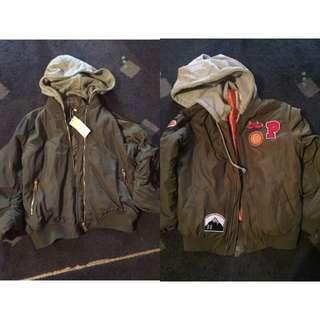 2x Warm new Jackets