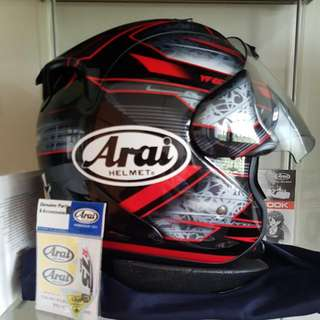 Arai Ram 4 Chronus Red
