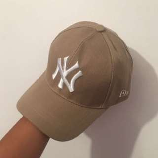 New Era Beige Cap