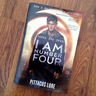 I Am Number Four (by Pittacus Lore)