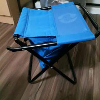 Handy Foldable Stool With Storage