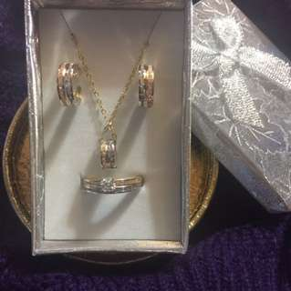 Jewelry (Ring,Necklace and Earrings