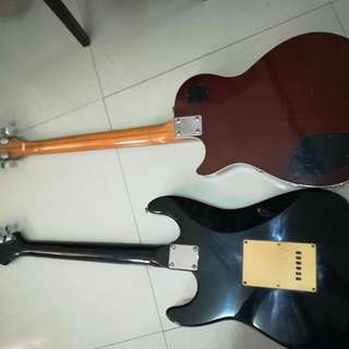 Stratocaster Biscayne And Les Paul Like Gibson