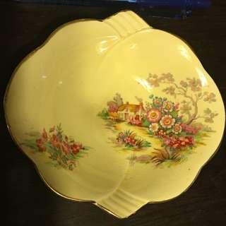 Vintage Royal Winton Made In England Fine China Village Scenes