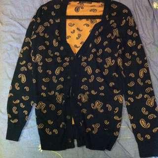 針織 罩衫 毛料 開襟外套/2件價